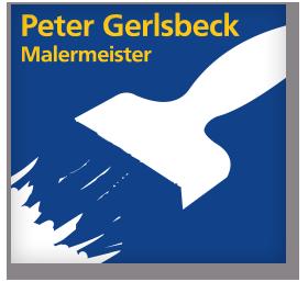 Malermeister Peter Gerlsbeck